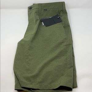Hurley dri fit shorts heather green
